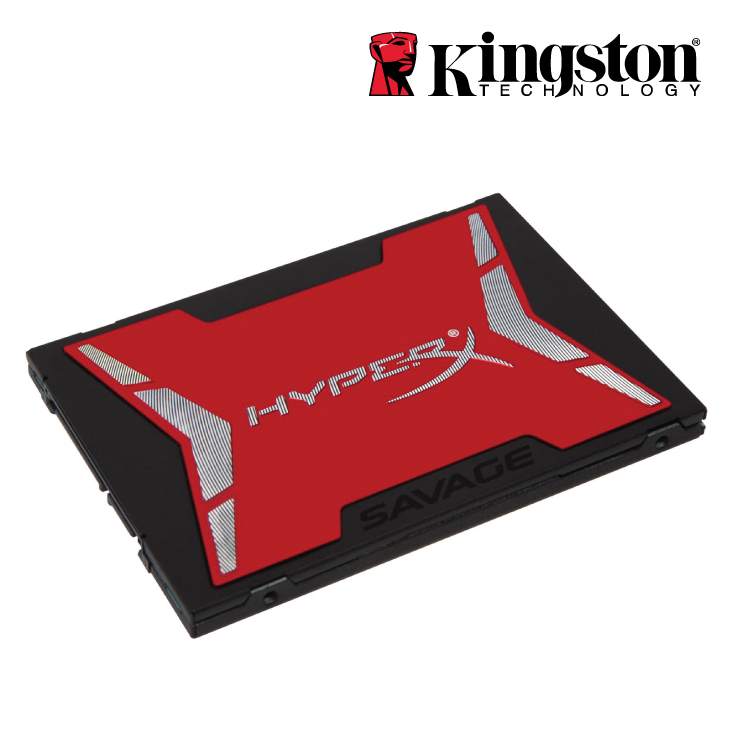 Kingston 480GB HyperX Savage SSD SATA 3 2.5( read @ 560MB/s and write @ 530MB/s)