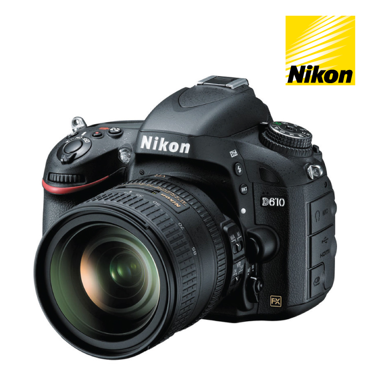 Nikon D610 DSLR Camera 24-85mm VR Single Lens Kit