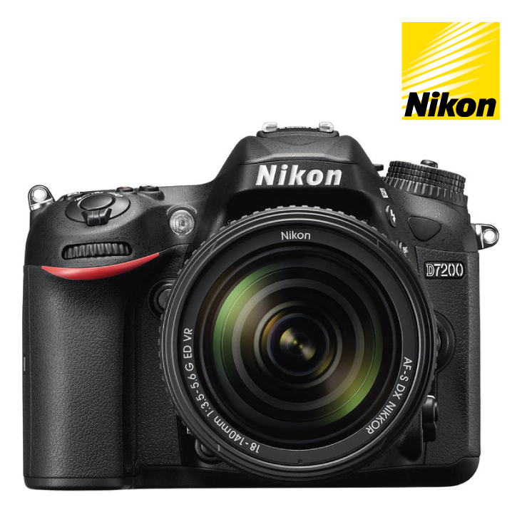 Nikon D7200 DSLR Camera 18-140mm Single Lens Kit