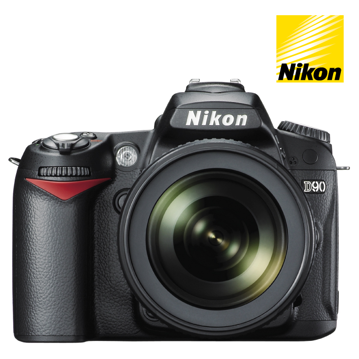 Nikon D90 DSLR Camera 18-55mm and 55-200mm VR Twin Lense Kit