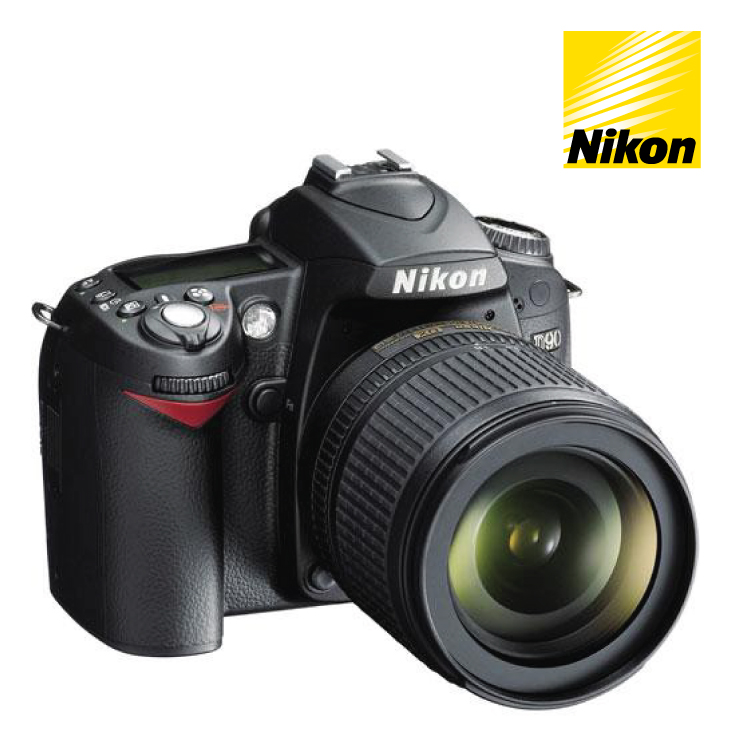 Nikon D90 DSLR Camera 18-105mm VR Single Lense Kit
