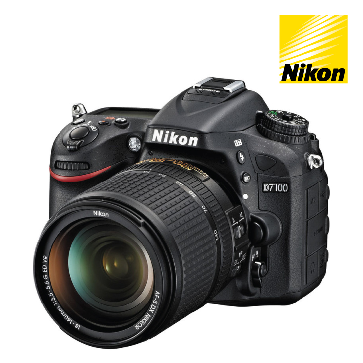 Nikon D7100 DSLR Camera 18-105mm VR Single Lens Kit