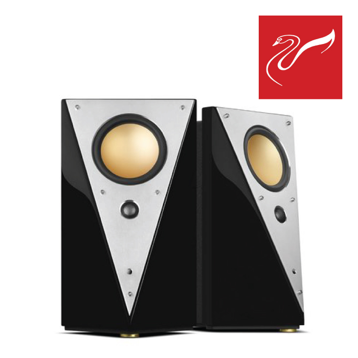 Swan T200C Reference Studio Monitor Speakers