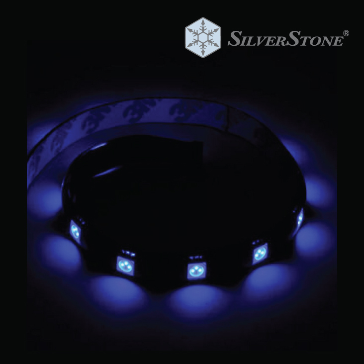 Silverstone LS01 Strip Axure Blue