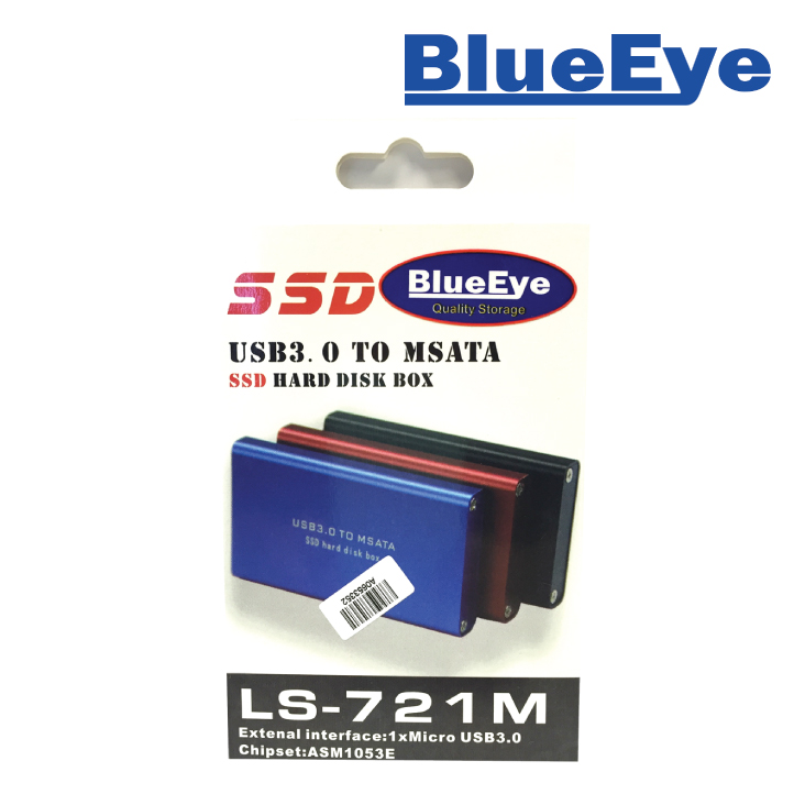 BlueEye USB3.0 to MSata Enclosure