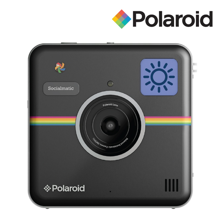 Polaroid Socialmatic Instant Digital Camera Black