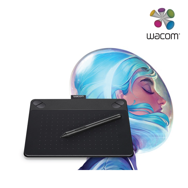 Wacom Intuos Art Pen and Touch Small Black CTH-490