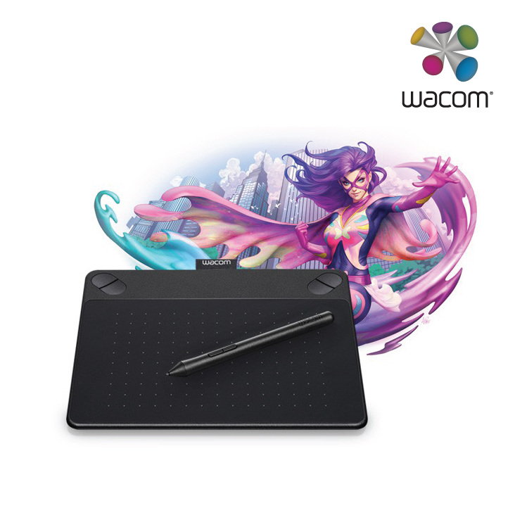 Wacom Intuos Manga Pen and Touch Small Black