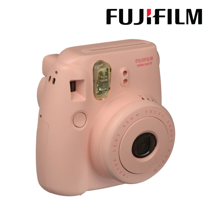 Fujifilm Instax Mini 8 Instant Film Camera Pink