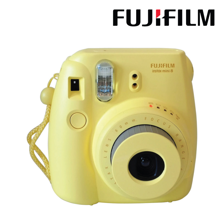 Fujifilm Instax Mini 8 Instant Film Camera Yellow