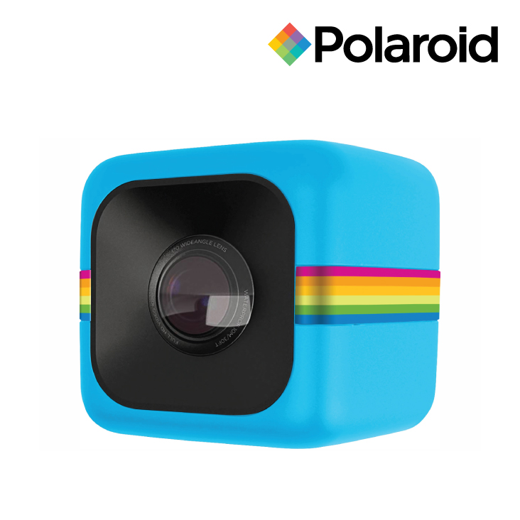 Polaroid Cube Sports Action Camera Blue - 1080p Video & 6MP Photos