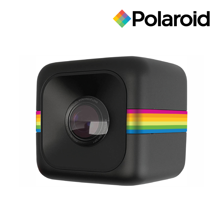 Polaroid Cube+ Sports Action Camera Black - 1440p Video & 8MP Photos