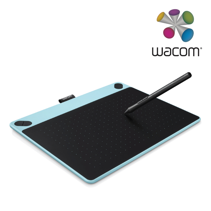 Wacom CTH-490/B1-C Manga Pen and Touch Small Blue