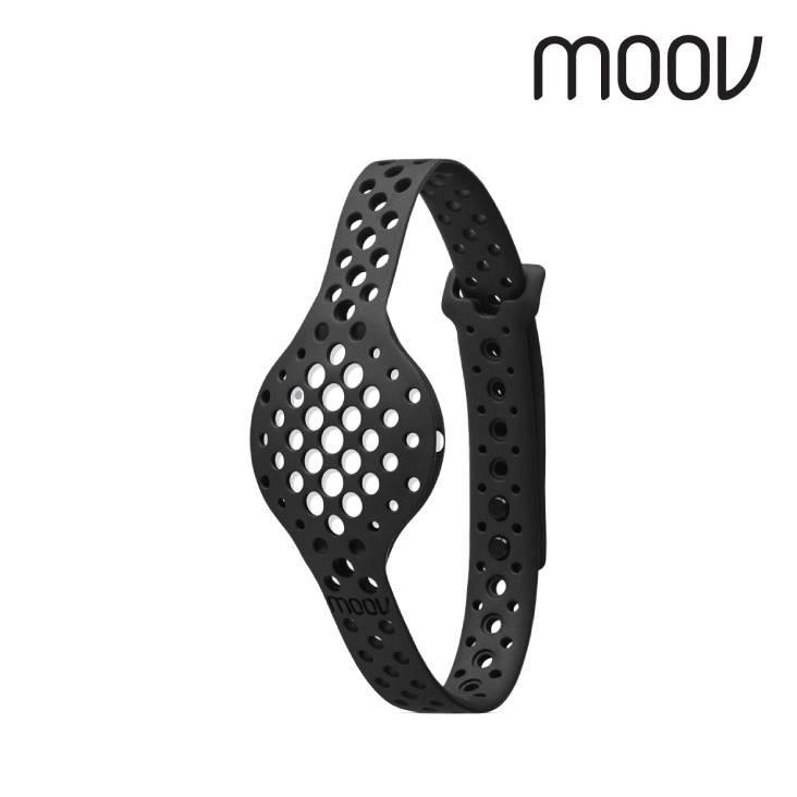 Moov Now Wearable Fitness Coach and Activity Tracker White