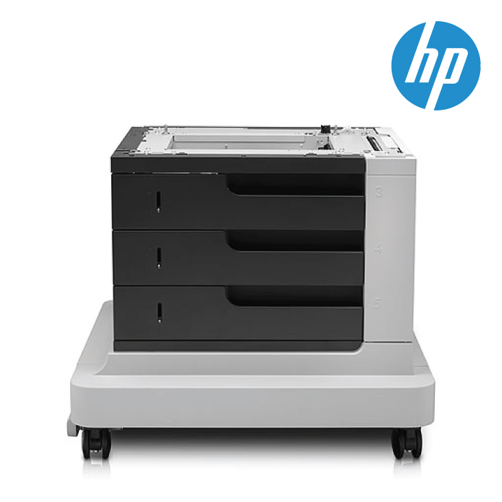 HP CE735A LJ M4555 MFP 3 x 500-Sheet Feeder With Stand