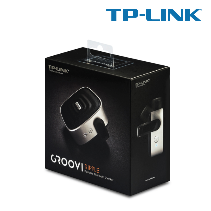 TP-Link BS1001 Groovi Ripple Portable Bluetooth Speaker