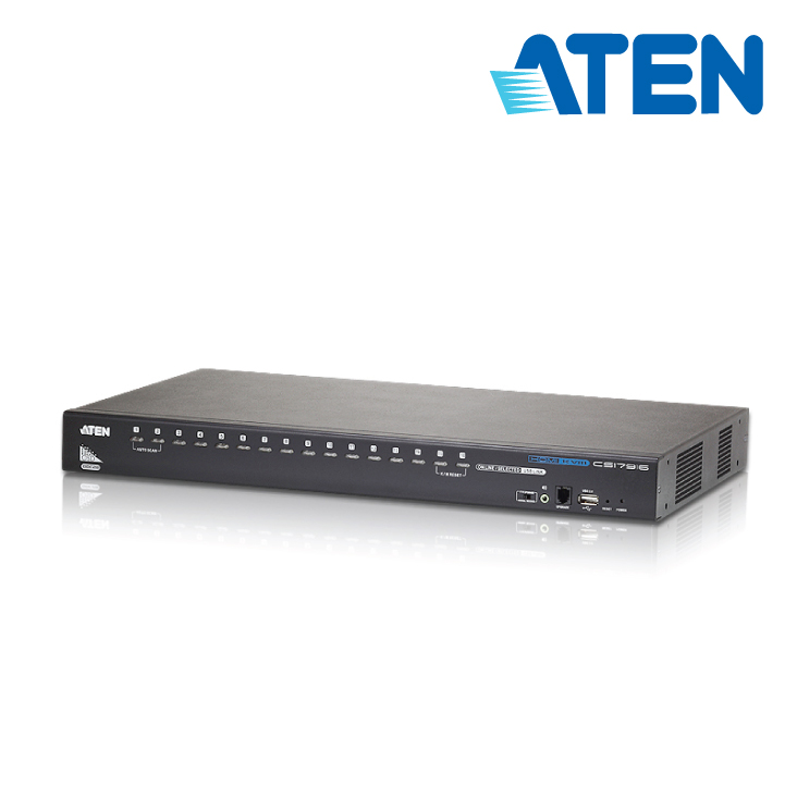 Aten CS-17916 16-Port Rackmount HDMI KVM Switch with Multi Display feature
