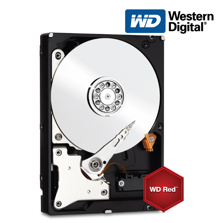 "Western Digital Red WD80EFZX 8TB 3.5"" NAS Hard Drive"