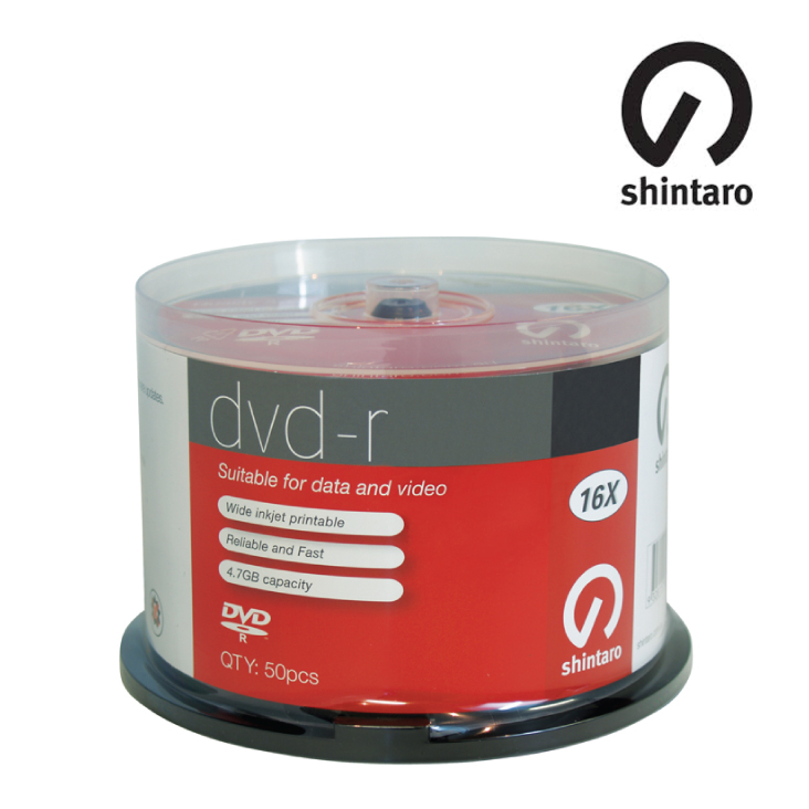Shintaro DVD-R 4.7GB 16x 50SP (inkjet)
