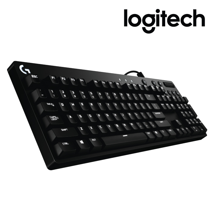 Logitech G610 Orion Brown Backlit Gaming Keyboard