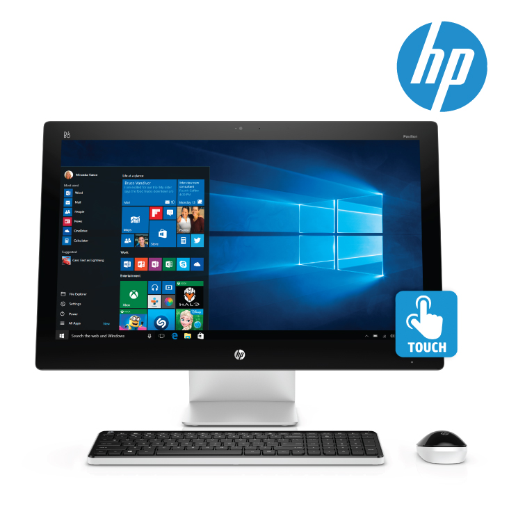 HP N4Q60AA PAV 27-N105A AIO I7-6700T 16GB(DDR3L-1600) 2TB(SATA-7.2) 27IN(FHD-TOUCH) AMD R7-360(4GB)