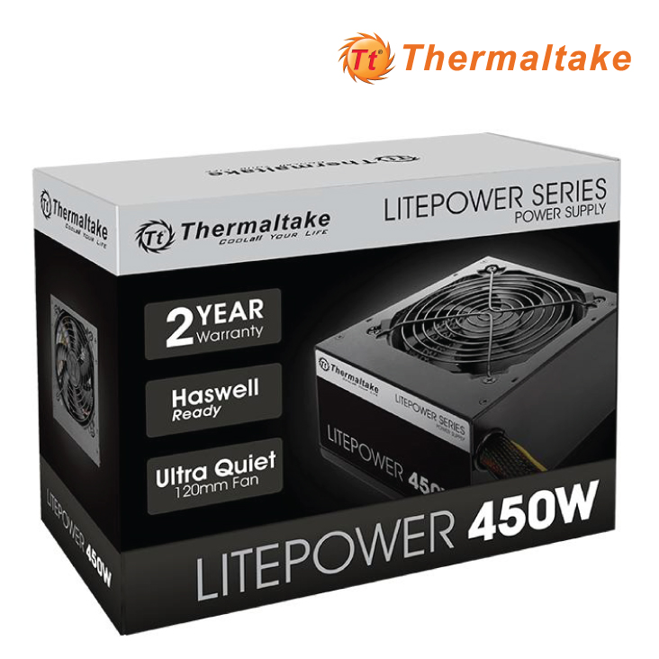 Thermaltake Litepower Gen 2 450W Power Supply