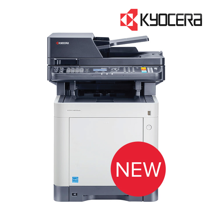 Kyocera M6530CDN Color Multifunction Laser Print Scan Copy Fax