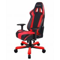DXRacer King (KS06) Series Gaming Chair, Neck/Lumbar Support - Black & Red