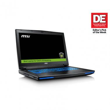 MSI WT72 6QN-232AU  17.3in Workstation Notebook Xeon E3 Quadro M5500/8G W10Pro