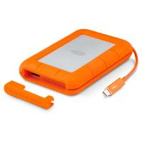 LaCie 2TB Rugged mobile USB3.0/Thunderbolt w Integrated Thunderbolt Cable