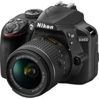 Nikon D3400 SLR Camera 18-55mm Kit Black