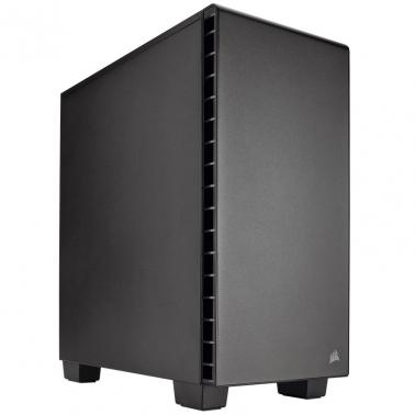 Corsair Carbide Quiet 400Q V2 Compact Mid-Tower Case 2017 Ed included Fan Controller for RGB series