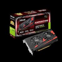 Asus Expedition GeForce GTX 1050 Ti eSports Gaming Graphics card 4GB GDDR5 OC