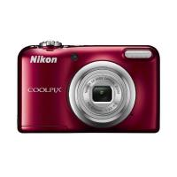 Nikon Coolpix A10 Digital Compact Camera - Red