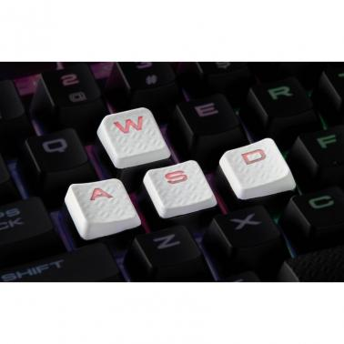 Corsair Gaming Performance FPS/MOBA Key Kit White