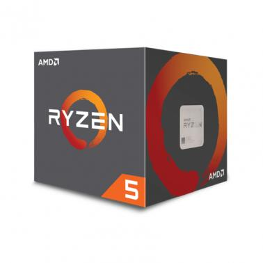 AMD Ryzen 5 1600 6-Core Socket AM4 3.4GHz CPU Processor with Wraith Spire Cooler
