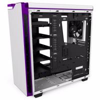 NZXT H440(2015) Mid Tower Case - Matte White/Purple