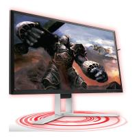 "AOC AGON MNAO-AG241QX 23.8"" 1ms 144Hz 2560x1440 FreeSync Gaming Monitor w/HAS - HDMI2.0/DP/DVI/VGA"