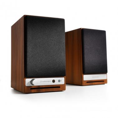 Audioengine HD3 Powered Desktop Speakers Pair Walnut