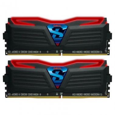 GeIL 16GB Kit (2x8GB) GLR416GB3000C15ADC DDR4 Super Luce Black
