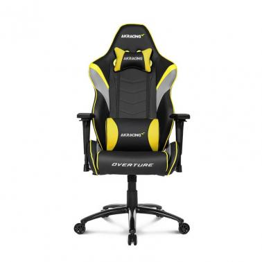 AKRacing Overture Gaming Chair Yellow