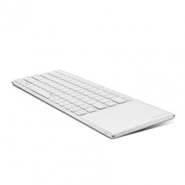 Rapoo Wireless Ultra-slim Keyboard with Touch Pad White