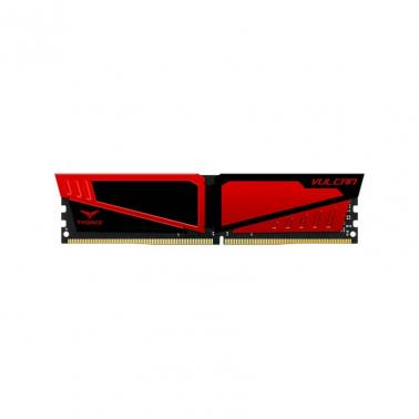 Team 8G(2x4G)Kit TLRED48G3000HC16CDC01 Red T-Force Vulcan Series Dual Channel DDR4 3000 MHz