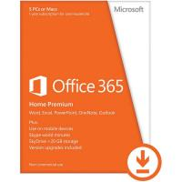 Microsoft Office 365 Home Premium 32bit/64 Eng Sub 1yrs DM Medialess