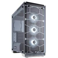 Corsair Crystal 570X RGB Tempered Glass Premium ATX Mid Tower Case White