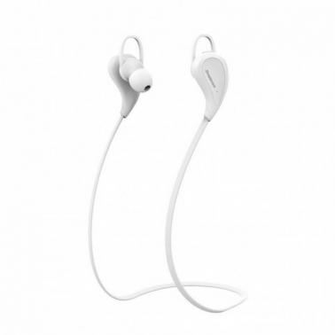 Simplecom BH330WH Sports In-Ear Bluetooth Stereo Headphones White