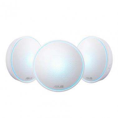 Asus Lyra AC2200 Whole-Home Wi-Fi System ( Mesh Network, AC Tri Band, internal antenna x 7, 3 pack i