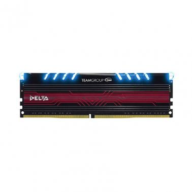 Team Delta Series DDR4 DIMM 2400MHz Single Channel 8GB Blue LED
