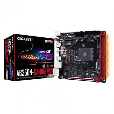 Gigabyte AB350N-GAMING-WIFI AM4 B350 2 DIMM DDR4 SATA 6Gb/s 1 x HDMI 1 x DP 6 x AJ Mini ITX