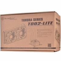 Silverstone Tundra TD02-LITE 120PWM 2 Fan Rubber Tub Liquid CPU Cooler